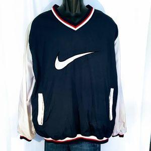80's Vintage Nike Colorblock Pullover Nylon Jacket